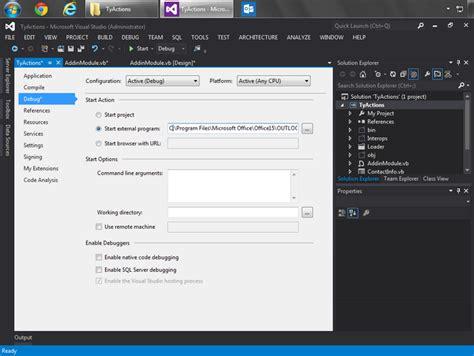 visual studio express 2013 reset settings customize outlook 2013 2010 context menus and menu bar