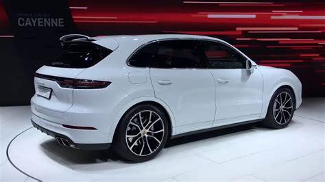 Porsche Cayenne Horsepower by All New Porsche Cayenne Turbo Parks All Its 550 Horsepower