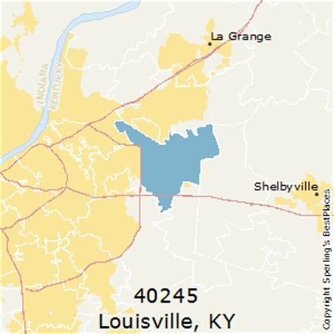 zip code map for louisville ky best places to live in louisville zip 40245 kentucky