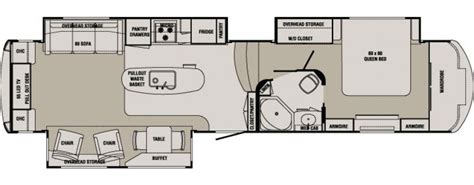 redwood 5th wheel floor plans redwood george m sutton rv eugene oregon