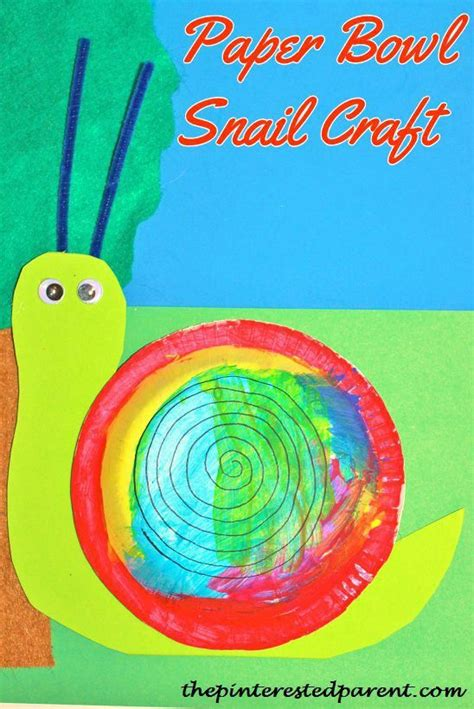 Snail Paper Plate Craft - 17 best images about snails on motor