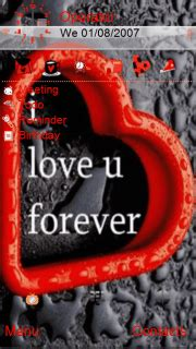 Themes I Love U Download | download i love u forever nokia theme mobile toones