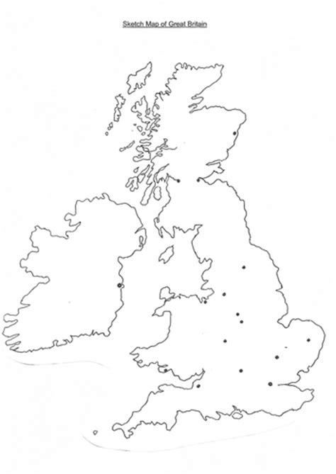 Sketch Map of GB by Suemaas - Teaching Resources - TES