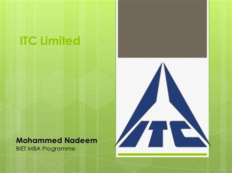 Itc Mba by Itc Limited