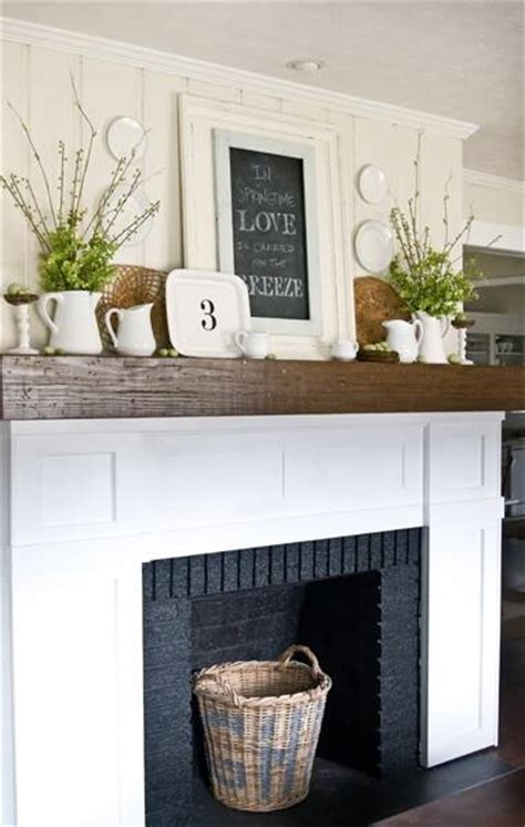 how to decorate a fireplace mantel paperblog