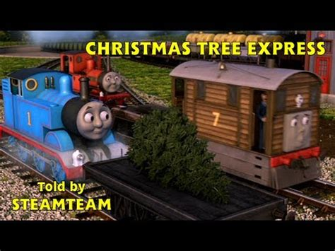 christmas tree express thomas friends magazine story