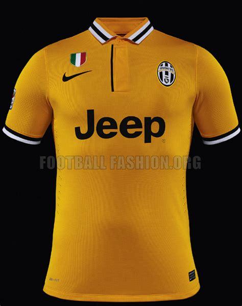 Baju Bola Berkerah alasan jersey away juve balik ke warna kuning biru bola net