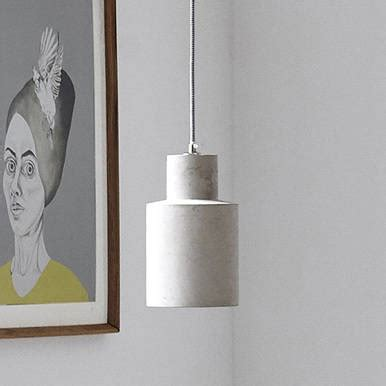 concrete and wood pendant light concrete pendant light by idyll home notonthehighstreet com