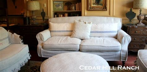 easy diy couch slipcover diy drop cloth projects the budget decorator