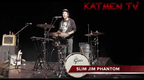 slim jim set katmen s slim jim phantom talking about his drumkit on
