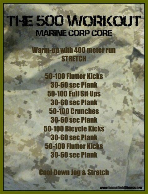 25 best ideas about marine workout on hiit