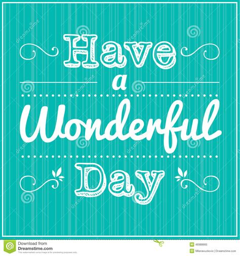 Day 2 A Wonderful Discovery by A Wonderful Day Stock Vector Image Of Card Advice