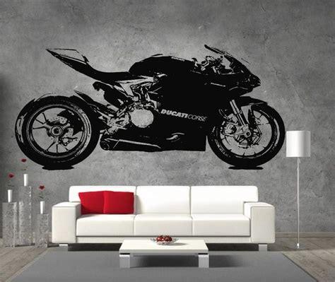 Ducati Wall Sticker by 17 Best Images About Motor Bike Wall Art On Pinterest
