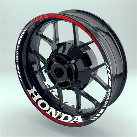 Honda Felgenaufkleber by Felgenaufkleber Wheelsticker Quot Honda Quot Startseite
