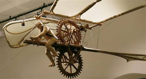 macchine volanti di leonardo da vinci ricostruita la bicicletta volante di leonardo da vinci