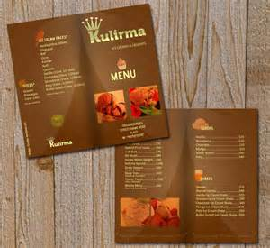 restaurant menu brochure psd