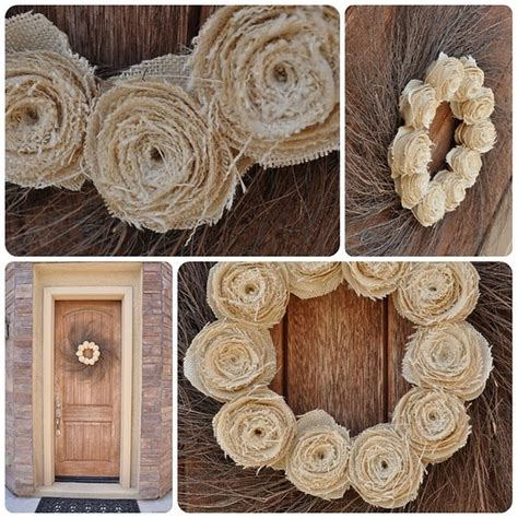 burlap wreath how to wreaths pinterest diy burlap wreath craft ideas pinterest