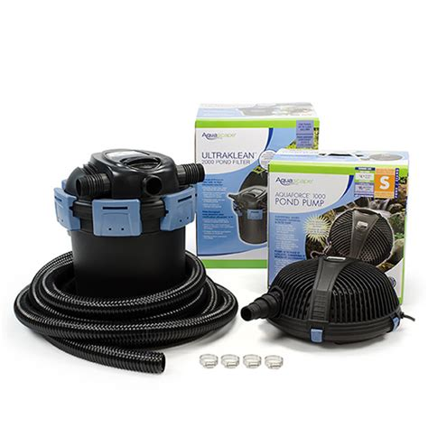 aquascape filter aquascape ultraklean 1500 filtration kit mpn 95058