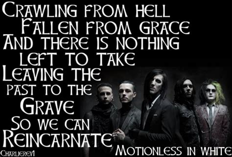 In White Quotes by Puppets Motionless In White Quotes Quotesgram