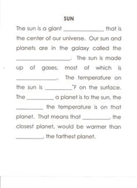 The Sun Worksheet Answers by 1000 Images About Sun Unit 1 On Sun Crafts