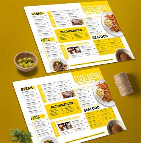 design menustrip c 44 premium food menu templates to download naldz graphics