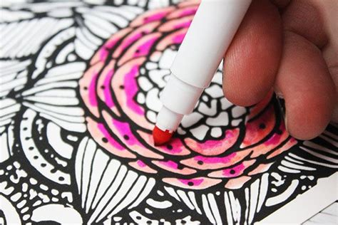 coloring with markers markers tips and tricks for adults alisaburke