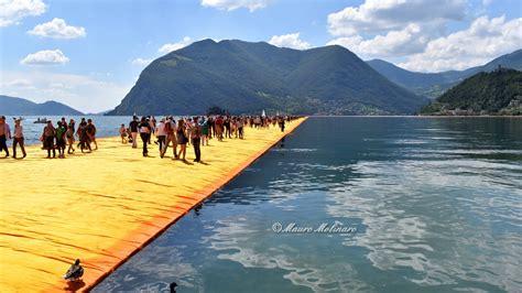 lago iseo the floating piers camminare sull acqua lago d iseo