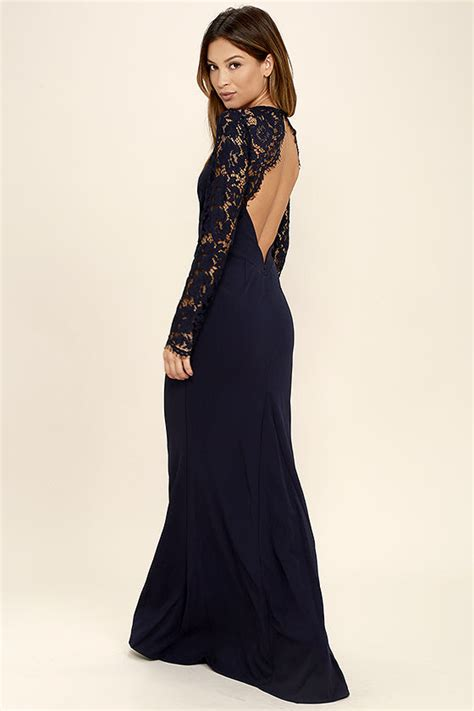 lulu s lovely lace dress maxi dress long sleeve dress