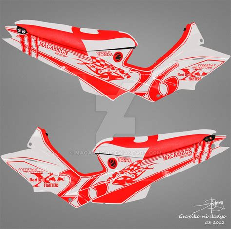 Honda xrm 125 sticker design