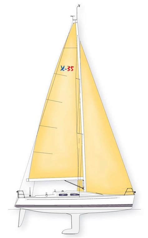 sailboat x 35 x 35 specification x yachts