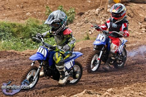 wee motocross gear photos results motocross trophy race day bernews
