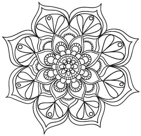 mandala coloring pages livro mandala floral 1 thumb png 471 215 455 mandala 1