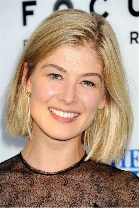 bob haircuts rosamund pike 100 celebrity short hairstyles for women pretty designs