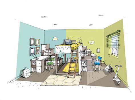 comment amenager une chambre pour 2 mini studio pour pr 233 ado leroy merlin