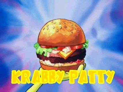 colored krabby patties pretty patties