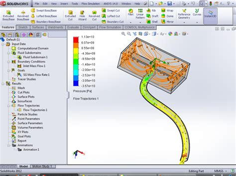 solidwork tutorial ppt how to save animation flow trajectories in solidworks