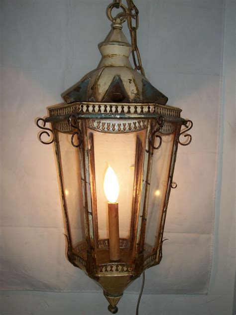 antique lantern ceiling light fixture venetian hanging