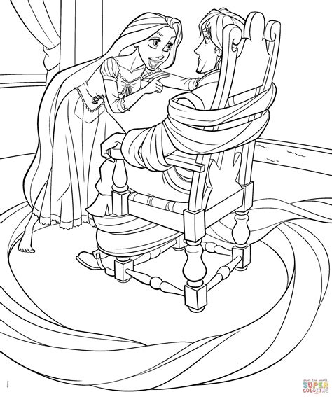 disney princess coloring pages rapunzel and flynn disney princess coloring pages rapunzel and flynn free