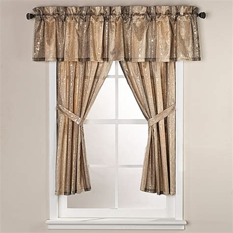 72 sheer curtains sheer bliss 15 inch x 72 inch bath window curtain valance