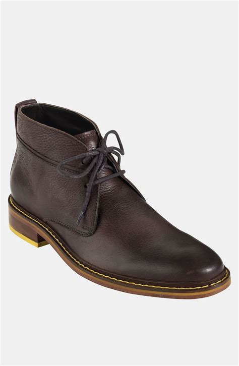 cole haan chukka boots cole haan air colton winterized chukka boot in brown for
