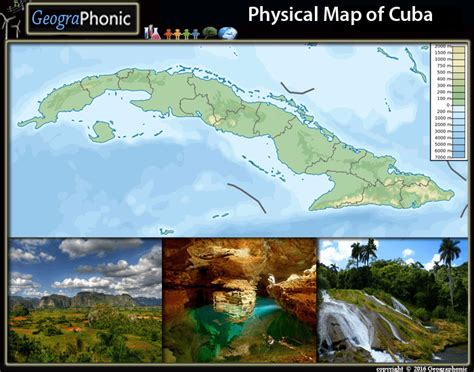 physical map of cuba physical map of cuba purposegames