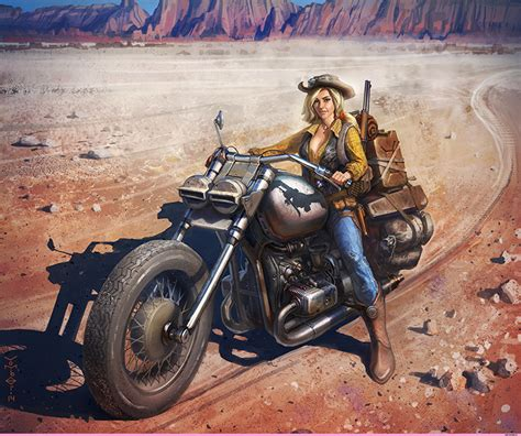 Gezeichnete Motorrad Bilder by Fotos Blond M 228 Dchen Der Hut Motorrad M 228 Dchens Motorradfahrer