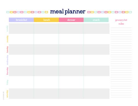 printable a4 weekly planner lifebymom 2015 planner a4 weekly meal planner 02 01 187 life