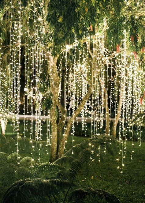 outdoor hanging lights for trees a inspired wedding in that s anything but cheesy