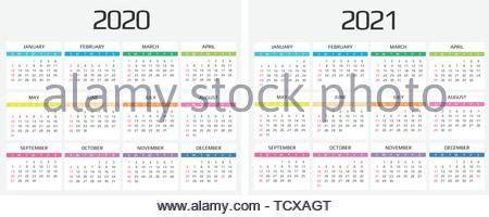 einfache  jahr kalender wochen  sonntag vektor