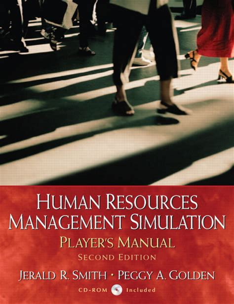 Human Resource Management For Mba Students 2nd Edition Pdf by Smith Golden Human Resources Simulation 2nd Edition