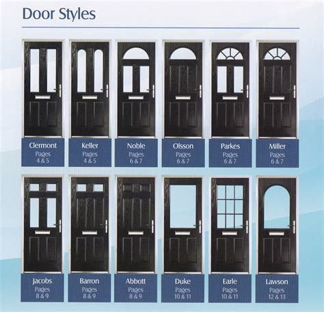 Composite Front Door Styles Composite Doors Meir Glass Centre Stoke On Trent