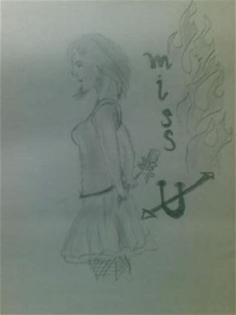 Miss U Drawing by Miss U