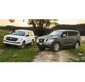 Nissan Patrol V Toyota LandCruiser Comparison  Photos 1
