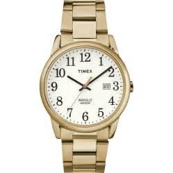 timex tw2r23600 easy reader gold stainless steel bracelet